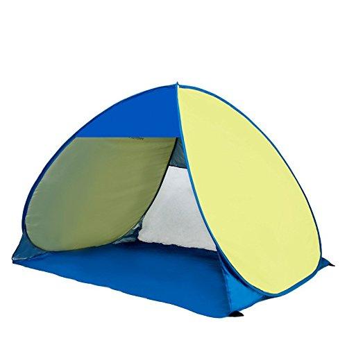 Lishangl ビーチテント、アウトドア自動テント野生釣りテント防水UVプロテクションテント (Color : 1)  1 B07QGB8QP5