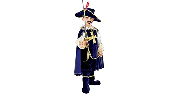 chiber Disfraces Disfraz de Mosquetero para Niño (Talla 12 (11-12 ...
