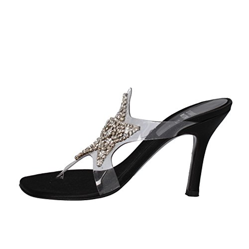 Zapatos Mujer STUART WEITZMAN 35 EU Sandalias Negro / trasparente Plástico / Satén WH107