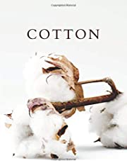 Cotton: A Decorative Book │ Perfect for Stacking on Coffee Tables & Bookshelves │ Customized Interior Design & Home Decor