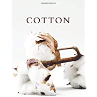 Cotton: A Decorative Book │ Perfect for Stacking on Coffee Tables & Bookshelves │ Customized Interior Design & Home…