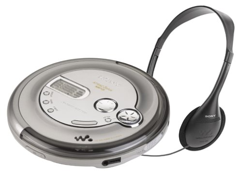 Sony D-NE710 ATRAC3/MP3 CD Walkman Portable Disc Player