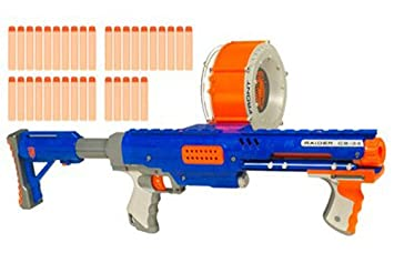 Nerf Hasbro Raider Rapid Fire CS-35 Nstrike: Amazon.es ...
