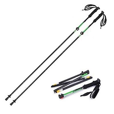 DSZ® mousse ultraléger extérieure poignée de verrouillage pliant bâtons de marche Randonnée alpenstock bâtons d'escalade