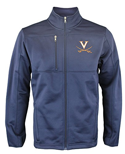 Price comparison product image Outerstuff NCAA Men's Tactical Performance Fleece Zip Up Jacket,  Many Teams (Virginia Cavalier's,  L)