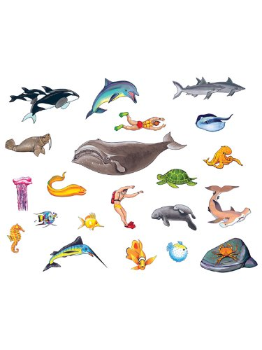 Felt Figures - Ocean Sea Life felt figures for Flannel boards add on pack- 21 pieces
