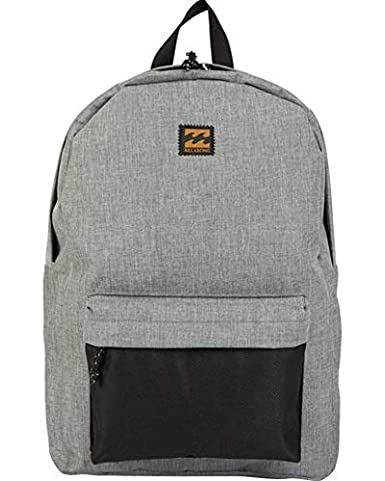 79c6a87d9f07 Amazon.com  Billabong Men s All Day Backpack Grey Heather One Size  Clothing