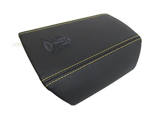 GMC OEM New Console Armrest Lid w/Autobot Logo Black Yellow 10-15 Camaro 22859172