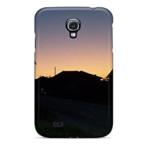 Excellent Design Beautiful Village Sunset Phone Case For Galaxy S4 Premium Tpu Case