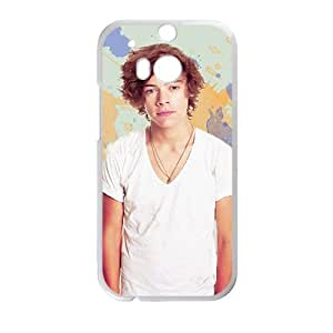 Happy Harry Styles Cell Phone Case for HTC One M8
