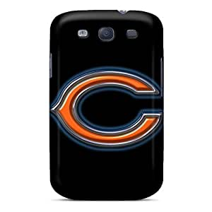 MSK2979WOlc Tpu Phone Case With Fashionable Look For Galaxy S3 - Chicago Bears