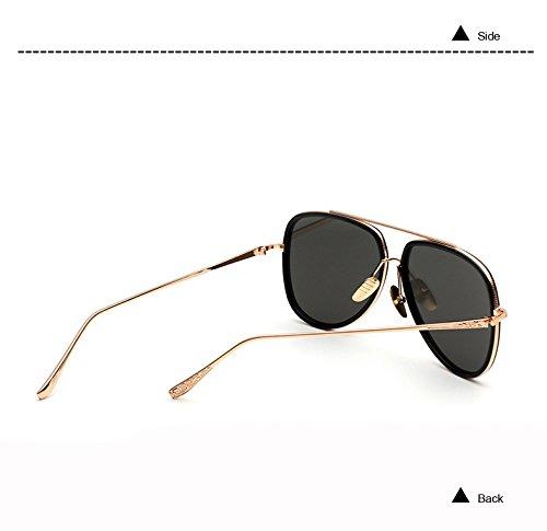 Negro Gafas de de Plano Joyer¨ªa Color Espejo de de Tama Sol Pynxn de Lujo artesan¨ªa Sombras Marco C1 Aviador de o Las Espejo del de Gran Gafas Panel C3 Metal Gris de de Negro nqwn8YCxt