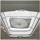 FIAMMA - Claraboya Turbo 28 Fiamma cúpula Blanco 28x28 con ...