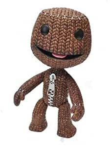 Little Big Planet - Muñeco de Sackboy pequeño, color marrón