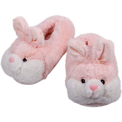 Caramella Bubble Classic Bunny Slippers | Womens Slipper | Fuzzy Clog for Lovers | Cozy Fun Plush Indoor Shoe | Soft Memory Foam Anti-Slip (5-7, -