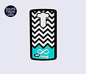LG G3 Case - Black White Chevron Young iPhone Cover