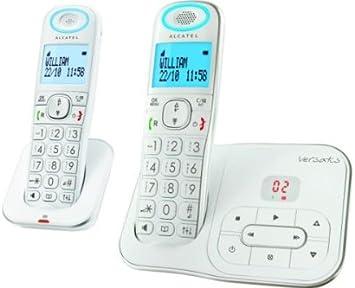 Alcatel Versatis XL350 Version Voice Duo: Amazon.es: Electrónica