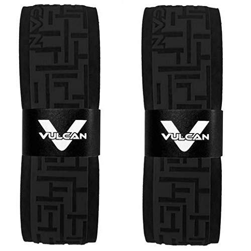 (Vulcan Baseball Softball Bat Tape Grip - (1.0 MM, 2-Pack, Black) - Bat Handle Wrap for Batting (Black))