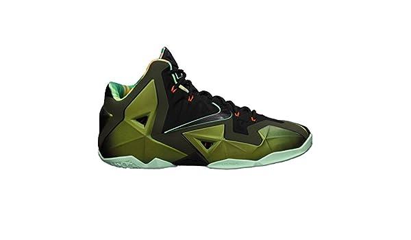 the best attitude 05277 91726 Amazon.com   Nike Lebron XI King s Pride Men s Basketball Shoes - Parachute  Gold Arctic Green Dark Loden Black (13.5)   Basketball