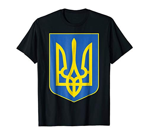 - Ukraine Coat of Arms, Ukrainian Tryzub Trident Shirt
