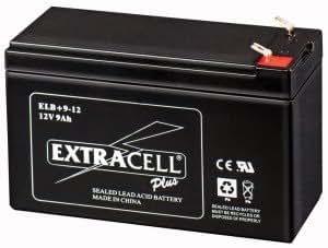 Batería de plomo recargable sellada 12V 9Ah marca extracell