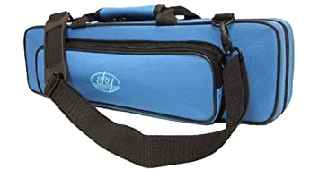 Sky C Flute Lightweight Case with Shoulder Strap (Sky Blue) 762022612615