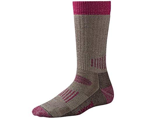 Smartwool Women's Hunt Medium Crew Socks (Taupe/Berry)