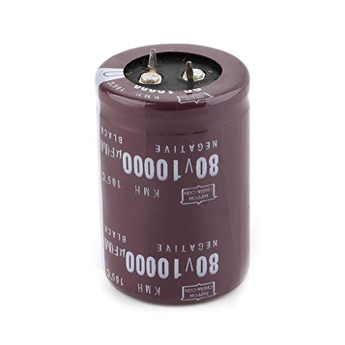 35x50mm 80V 10000uF Electrolytic Capacitor Filter Current Condenser for Audio Amplifier