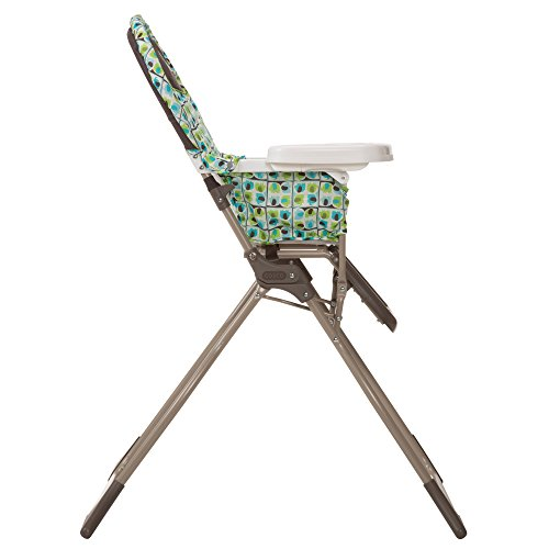 41AANElzVvL - Cosco Simple Fold High Chair With 3-Position Tray (Elephant Squares)