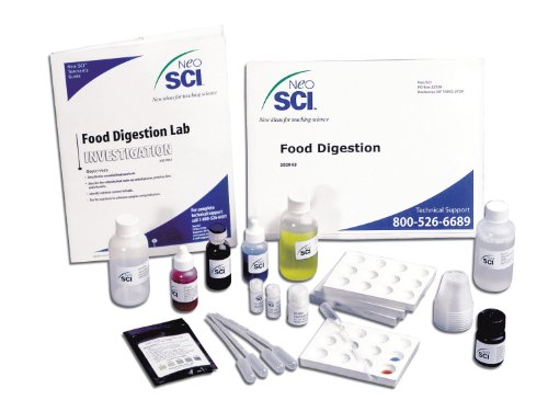 Neo/SCI 20-2943 Food Digestion Lab Kit, For 40 Students