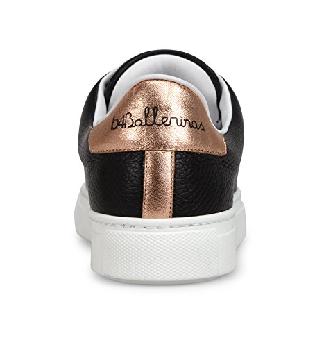 A Mano E In Pelle Rosa Italia Nera Dettagli Sneakers Oro In Donne In xqAwfZZ
