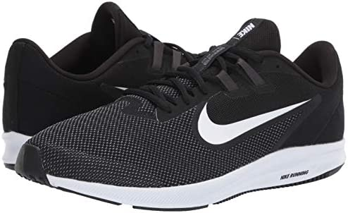 41AANws0MJL. AC Nike Men's Downshifter 9 Running Shoe    The Nike Downshifter 9 men's running shoes provide lightweight breathable comfort throughout your run. These sneakers for men have additional durability with a rubber outsole and closed mesh through the midfoot and heel.