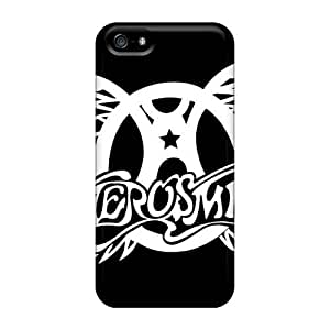 Phonecaseforall Apple Iphone 5/5s Bumper Hard Cell-phone Case Allow Personal Design High Resolution Aerosmith Band Skin [SuJ8526DEED]