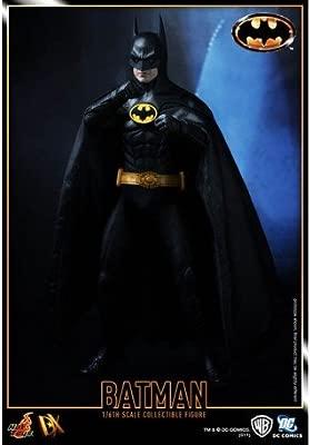 Hot Toys Batman Action Figure DX Series Movie 1989 Escala 1/6 de colección pintada y tallada a mano