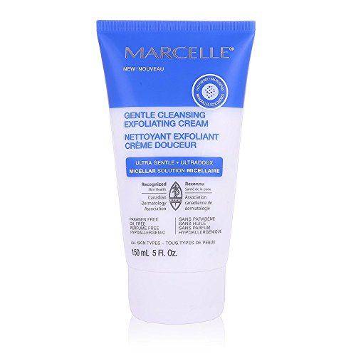 Marcelle Gentle Cleansing Exfoliating Cream, 5.07 Ounce