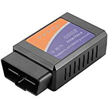 XCSOURCE ELM327 Wireless WiFi OBD2 OBDII Car Trouble Code Reader Vehicle Diagnostic Scanner Tool for iOS Android Windows Smart Phones MA1513
