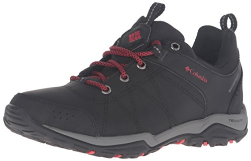 Columbia Women's Fire Venture Waterproof Low Hiking Shoes, Black/Burnt Henna, 7.5 B US by Columbia