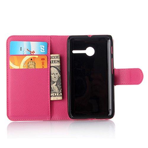 Funda Vodafone Smart first 6,Manyip Caja del teléfono del cuero,Protector de Pantalla de Slim Case Estilo Billetera con Ranuras para Tarjetas, Soporte Plegable, Cierre Magnético E