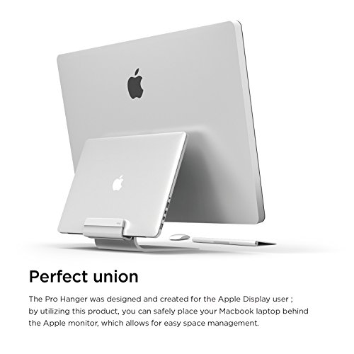 elago Pro Hanger for Mac - Laptop Shelf for iMac, Thunderbolt, and other Apple Displays by elago (Image #1)