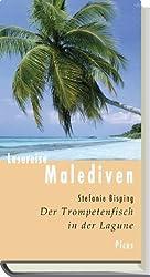 Lesereise Malediven: Der Trompetenfisch in der Lagune