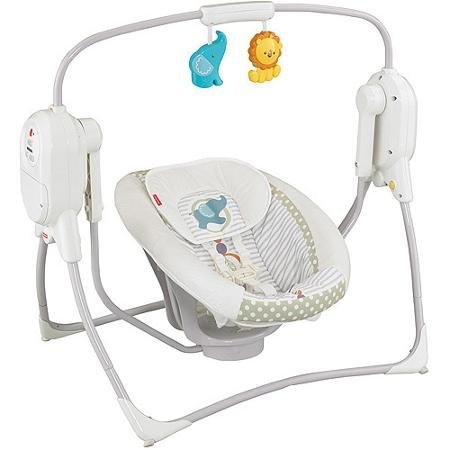 spacesaver fisher price swing - 6