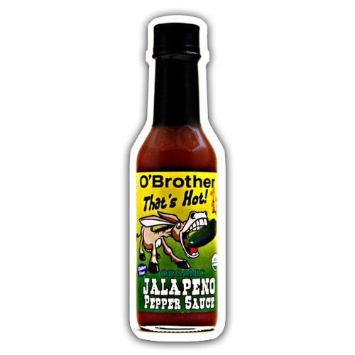 O Brothers, Sauce Pepper Jalapeno Organic, 5 Ounce