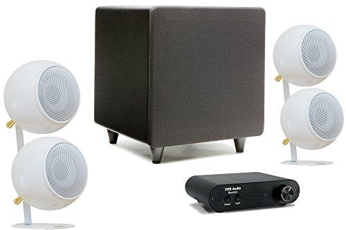 Orb Audio Booster Two Soundbar Speaker System - Wh...