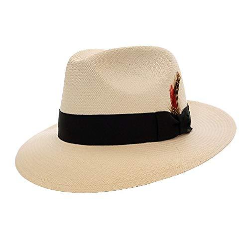 DelMonico Caprice Panama Hat-Natural-XL