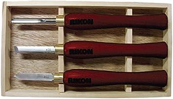 RIKON 70-9003 Turning Tool Set 3-Piece