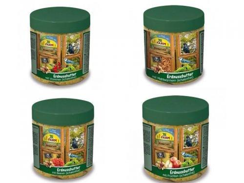 JR Wildvogel-Ppot Erdnussbutter Mix 4 x 400g by Zoolox (R)