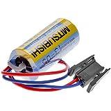 LUO Mitsubishi a6bat er17330V 3.6V 2000mAhリチウム工業バッテリーW /プラグ