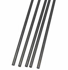 5pcs 2mm Diameter x 500mm Carbon Fiber R...