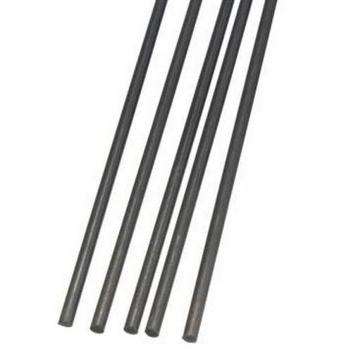 5pcs 2mm Diameter x 500mm Carbon Fiber Rods For RC Airplane Matte Pole by GokuStore