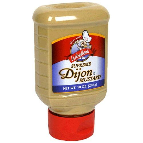 Woeber's Supreme Dijon Mustard, Six 10-Ounce Units (60-Ounces)